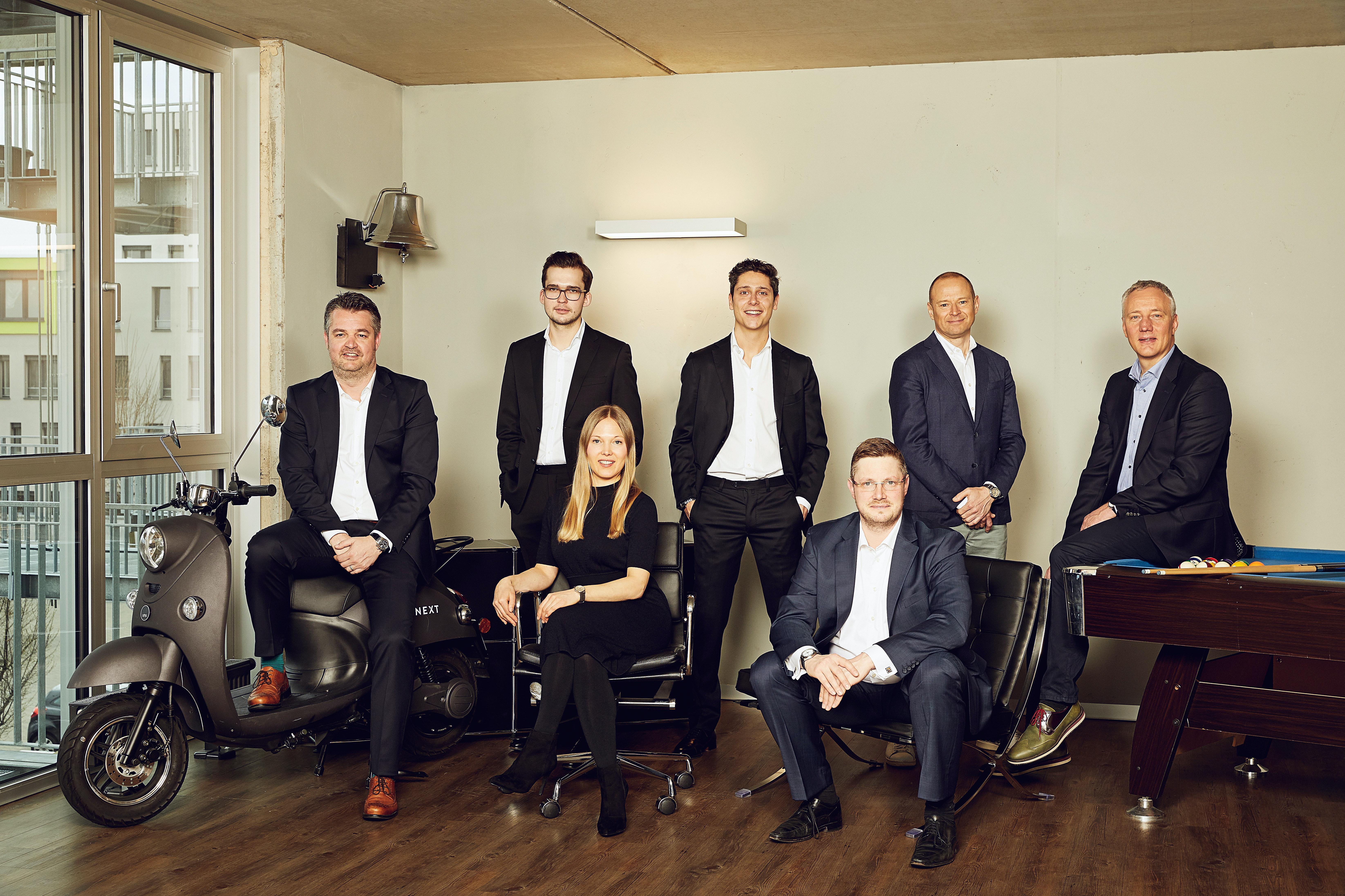 Das CHRONEXT-Team und Management Board
