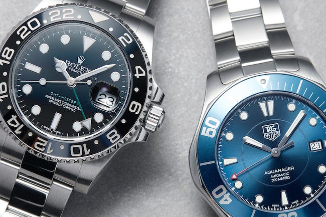 Uncovering Watches: Details behind the Bezel of the GMT and Diver's Watch
