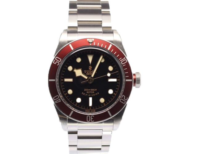 Tudor heritage black bay chronext - Tudor dive watch price ...