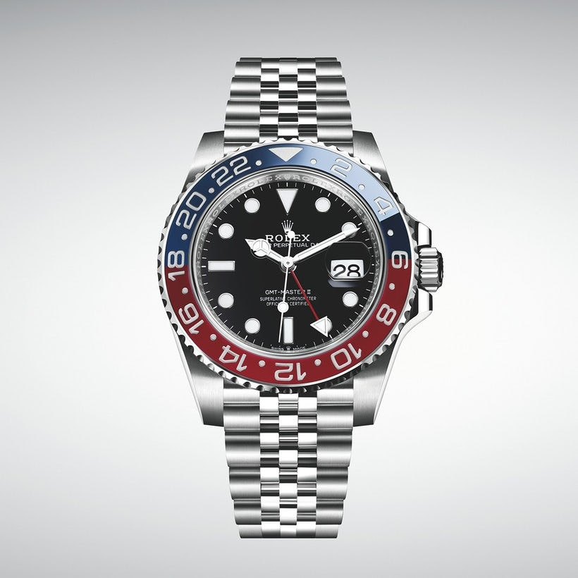 Baselworld 2018 - The Rolex GMT-Master II Pepsi in stainless steel ref. 126710 BLRO
