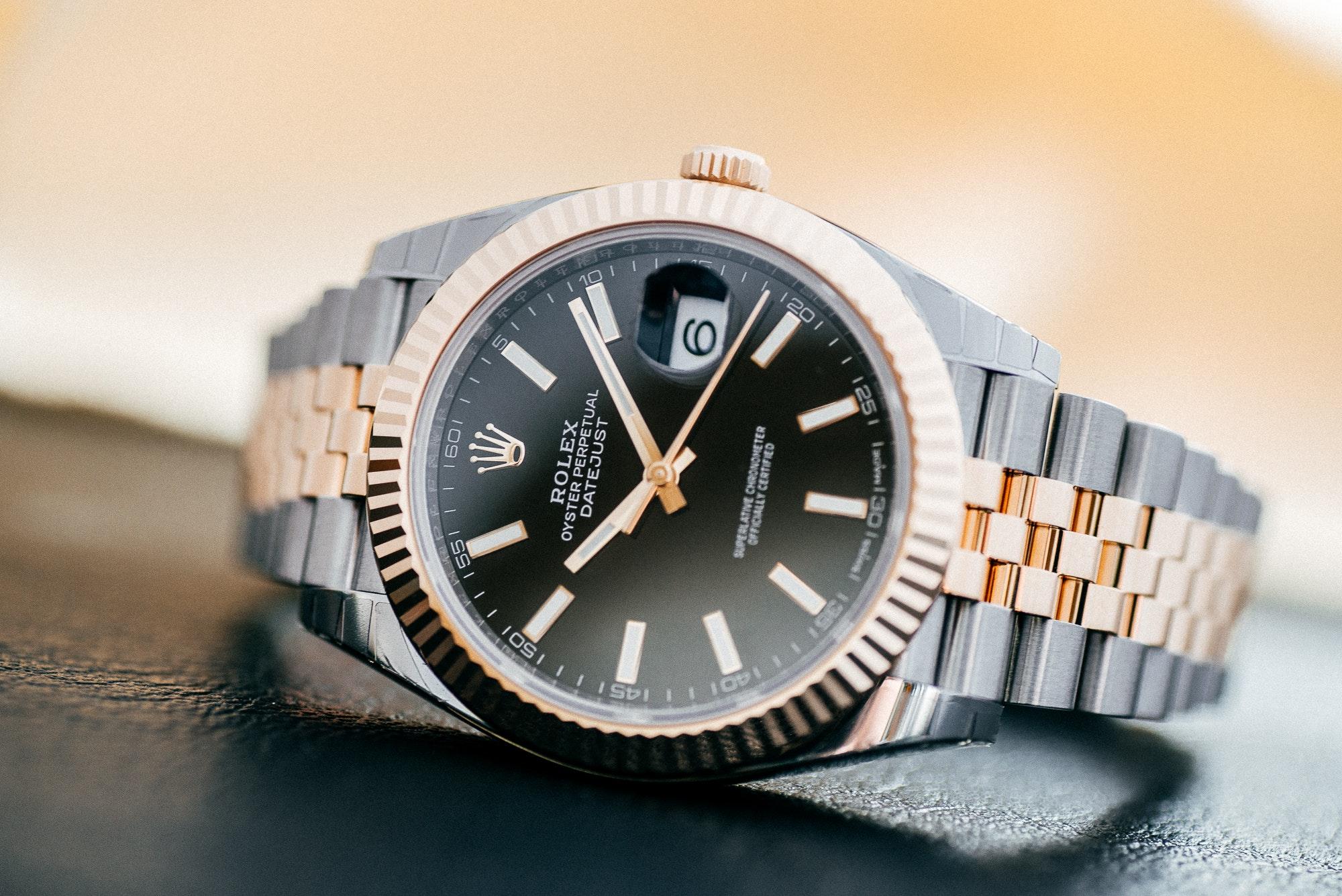 Die Rolex Datejust 41 mit einem Jubilé-Armband