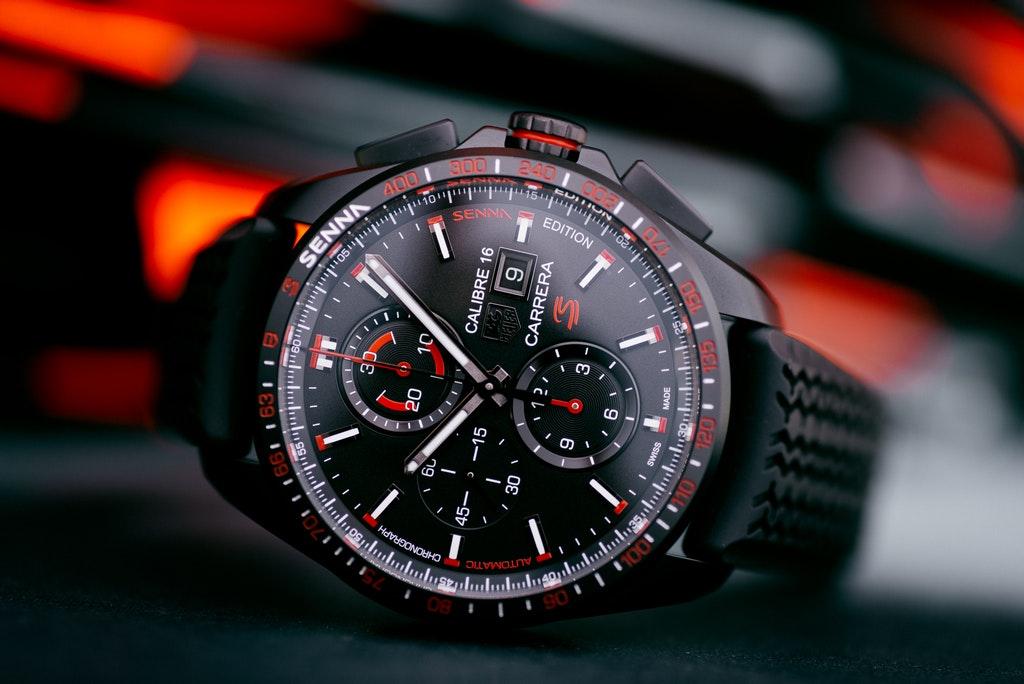 9b86e770b3a3d The Watch of the Day  The TAG Heuer Carrera Calibre 16 Chronograph Senna  Edition