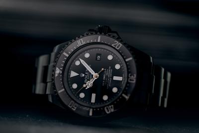 Wieso nicht in Schwarz? Die Rolex Deepsea Sea-Dweller DLC