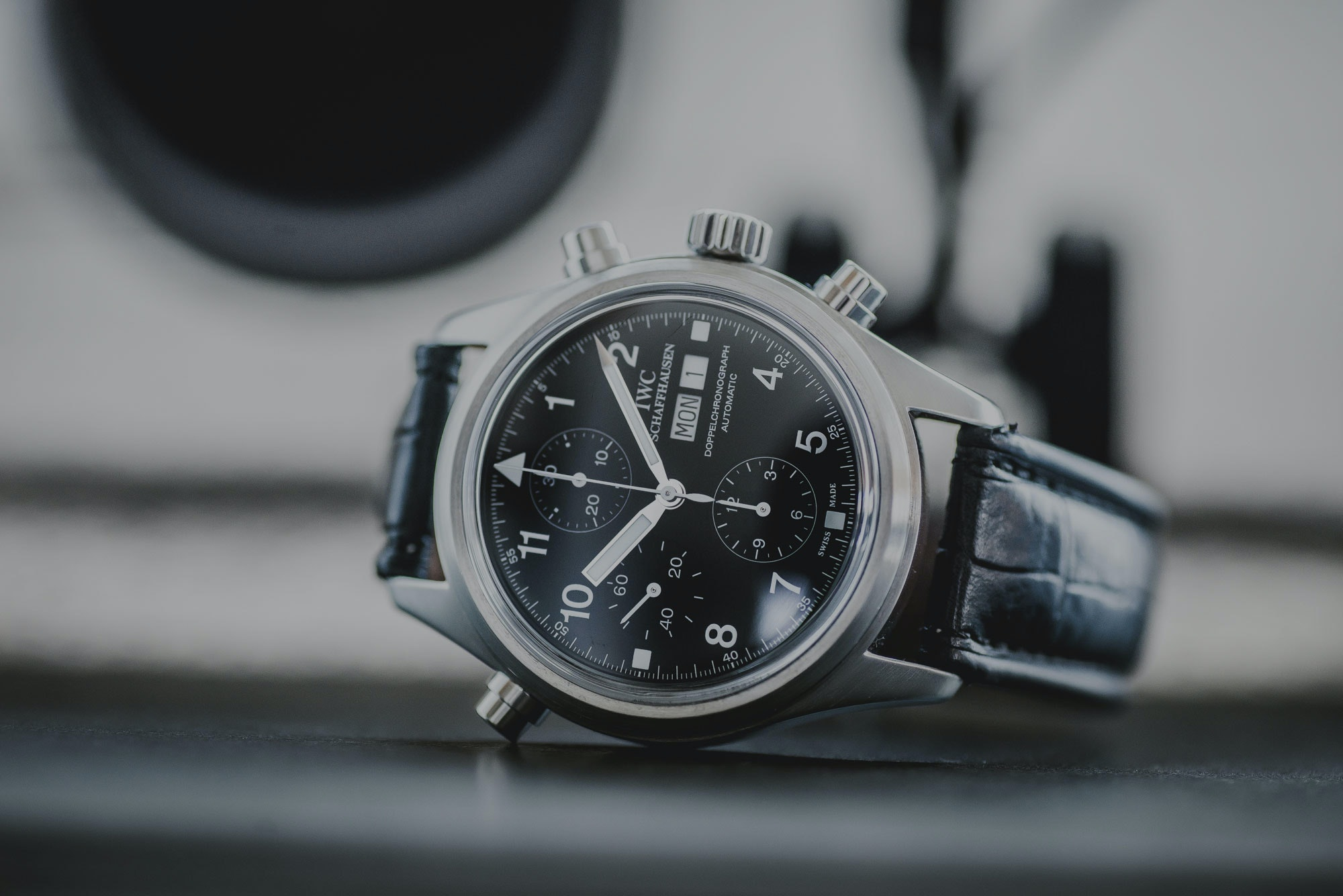 The Watch of the Day – The IWC Doppelchronograph IW3711