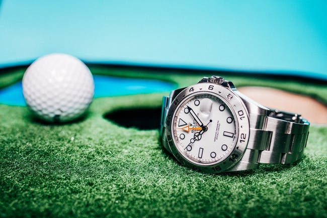 Golf and luxury watches: Likely Bedfellows
