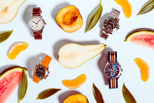 Watches for the summer: The most beautiful models where the accent is on colour