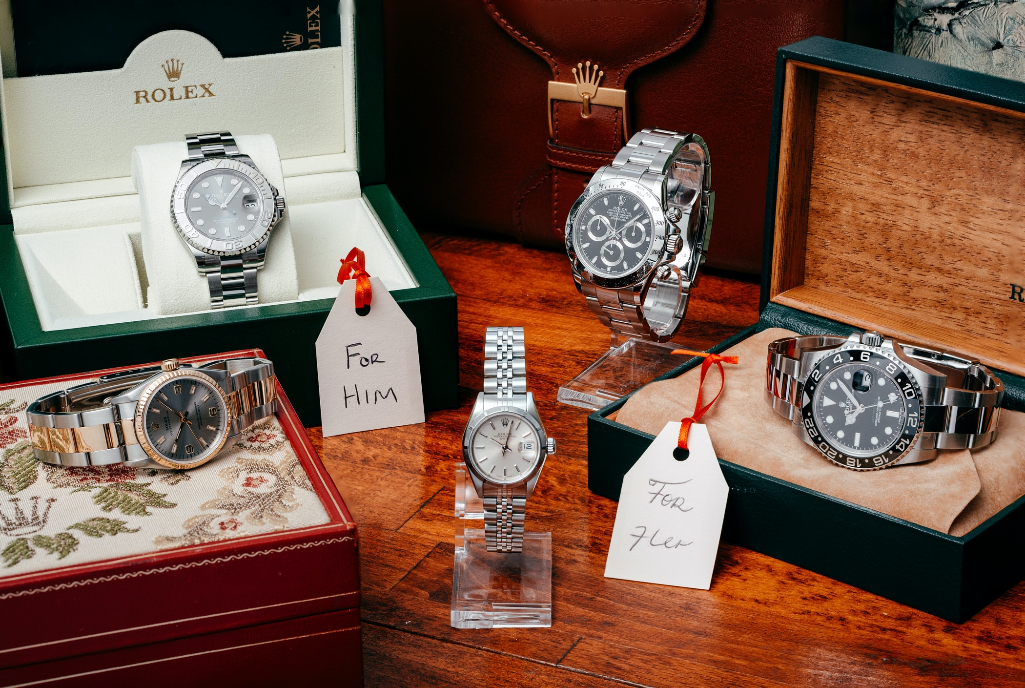 What are the top 5 Rolex gifts for Christmas?