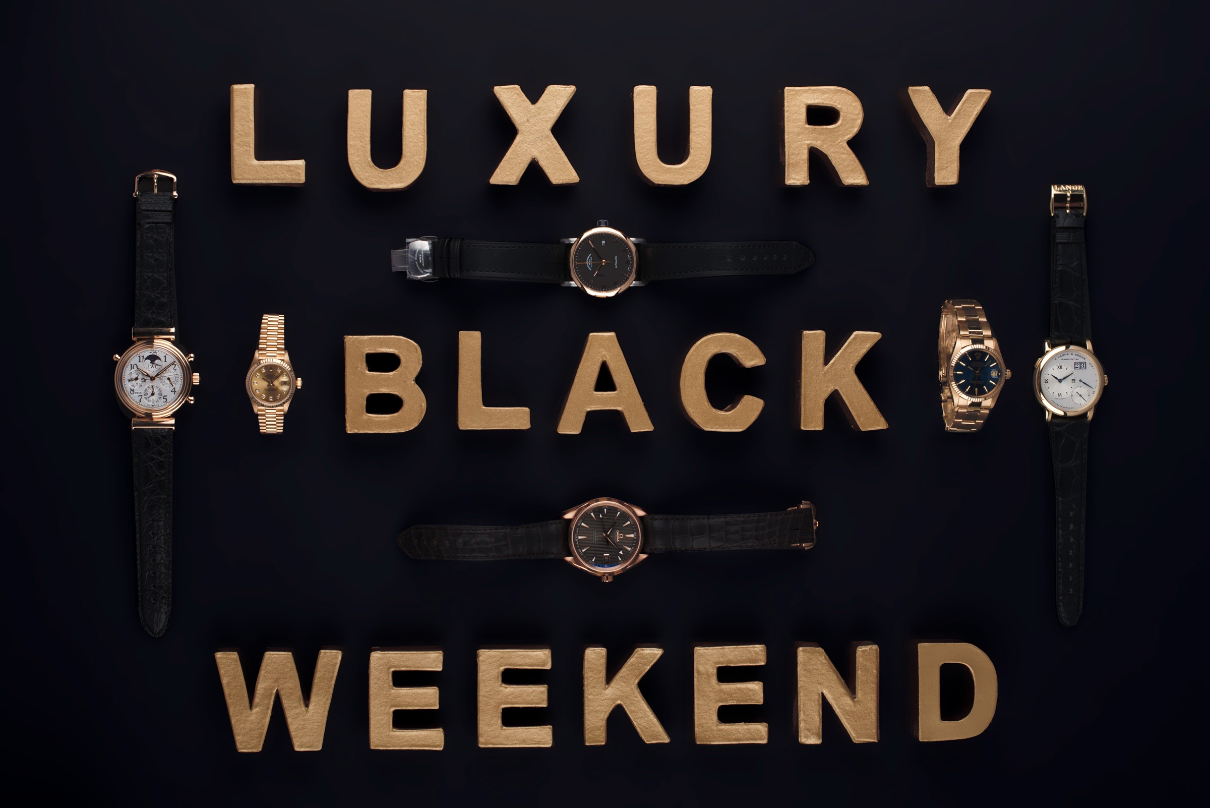 Luxury Black Weekend at CHRONEXT