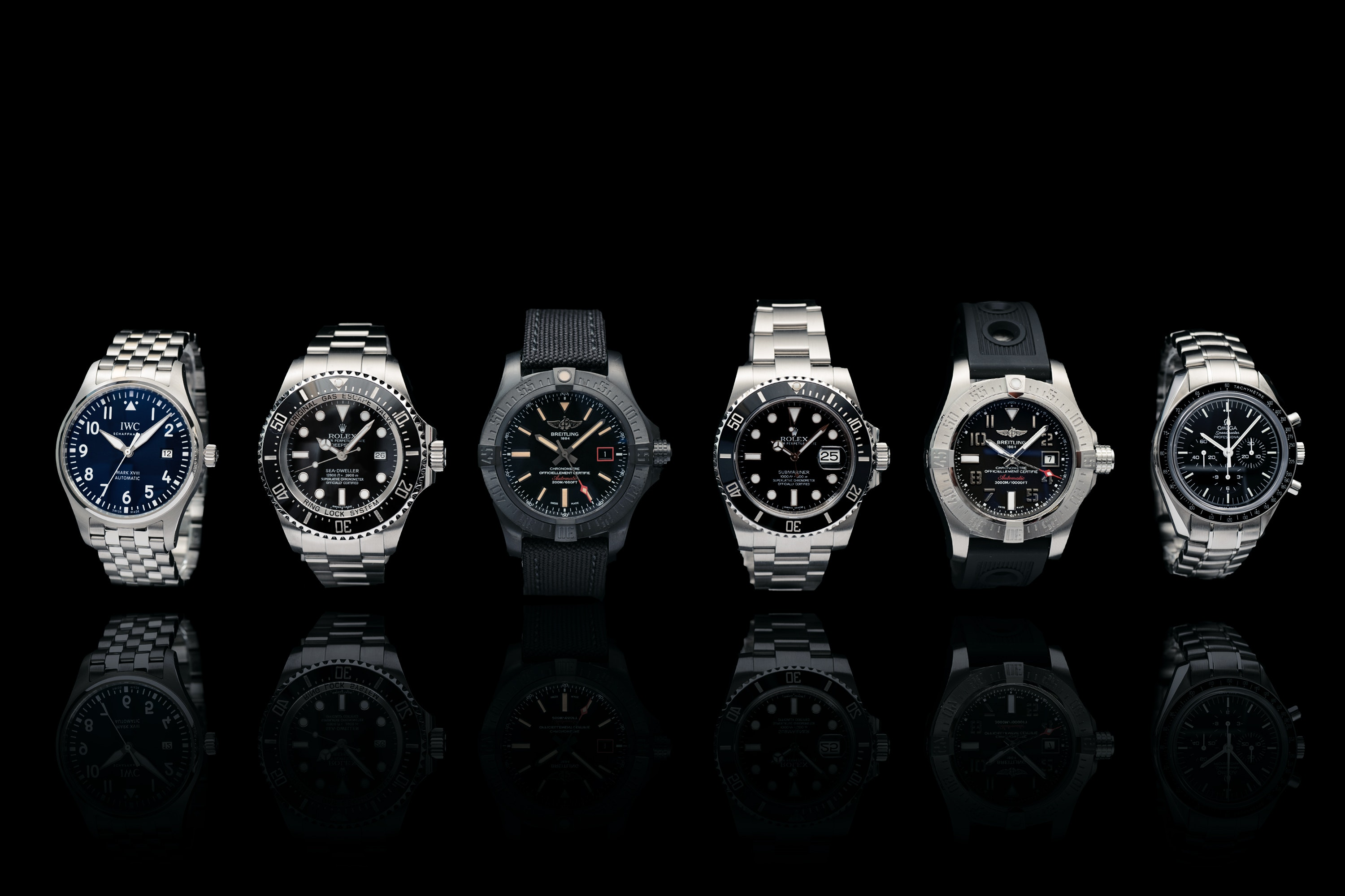 The top ten best-selling watches at CHRONEXT in 2017