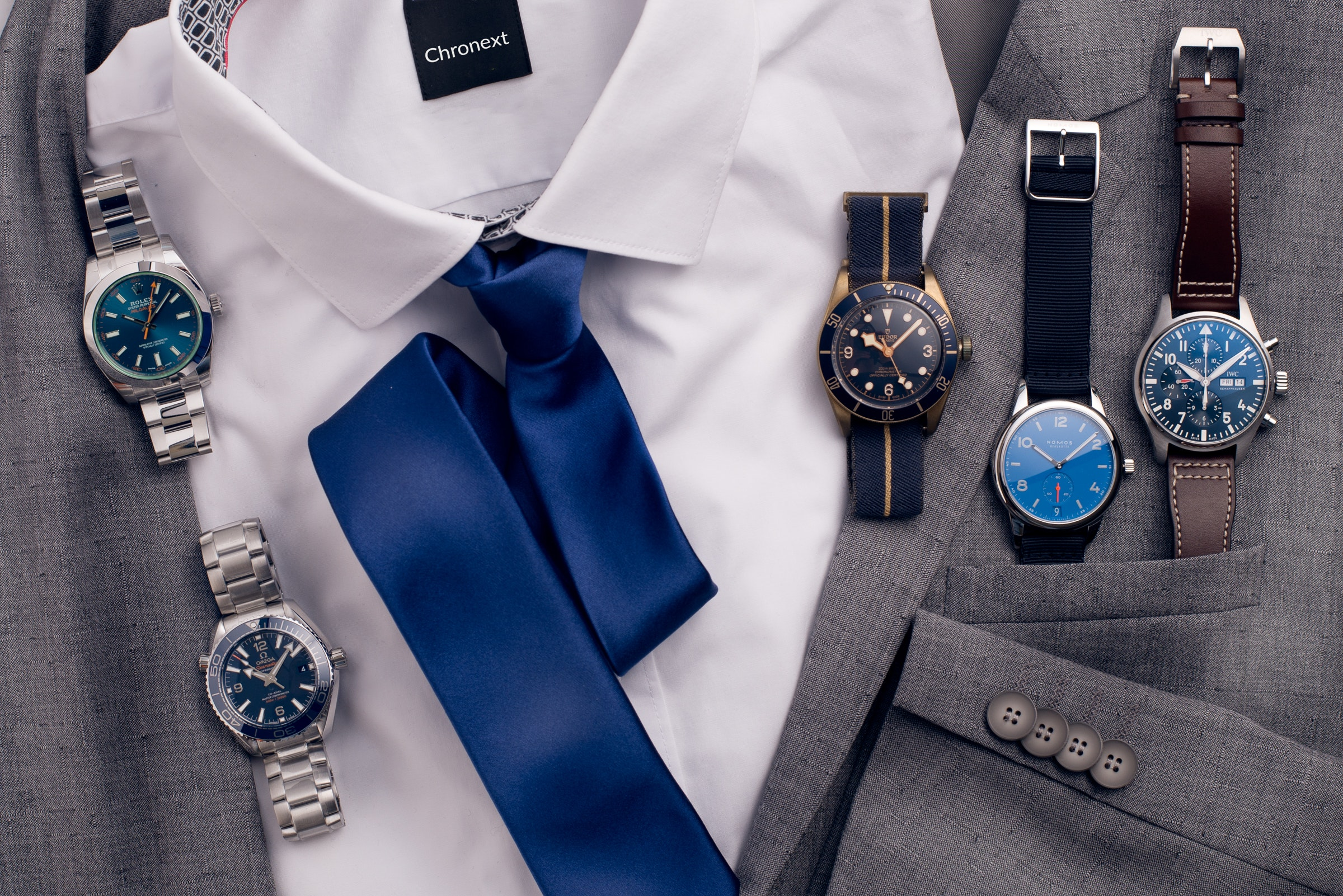 Is blue the new black? Our five favourites with a blue dial