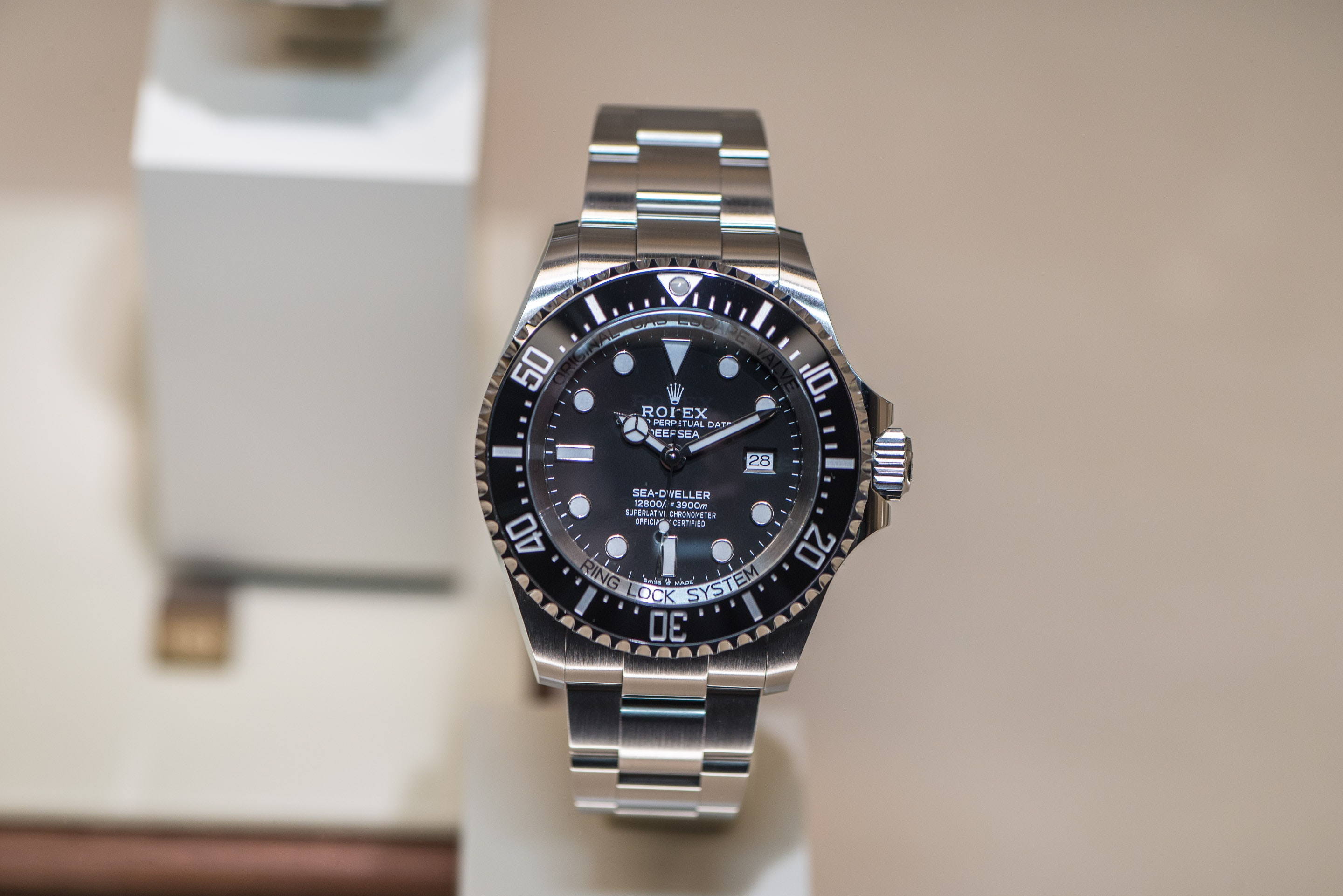 The Submarine that Dwells on Your Wrist: a Deeper Dive into the Rolex Deepsea at Baselworld 2018