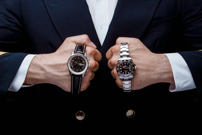 Round 1: Battle of the pilot's watches - Rolex GMT-Master vs Breitling Navitimer