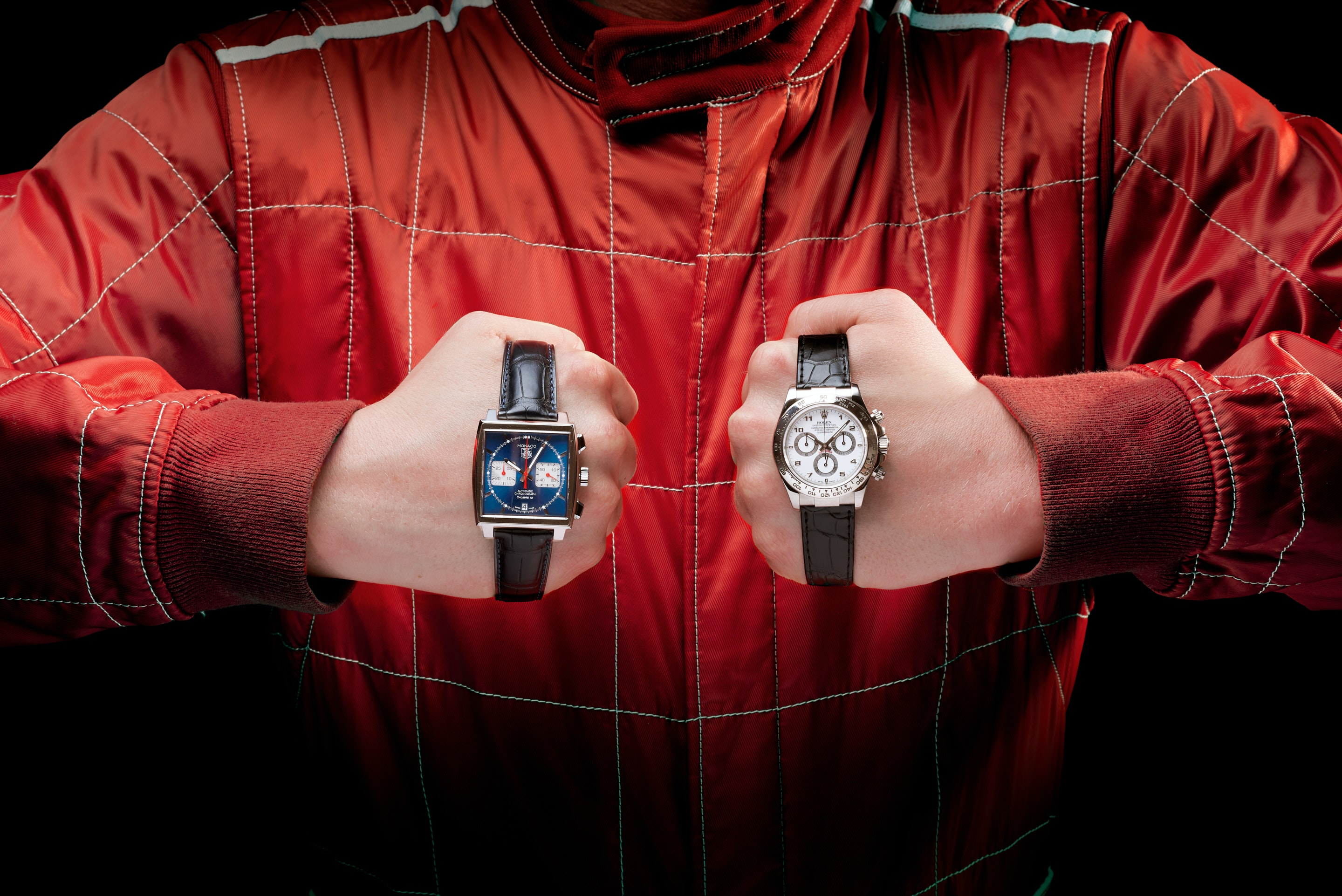 Battle of the racing watches: Rolex Daytona vs TAG Heuer Monaco