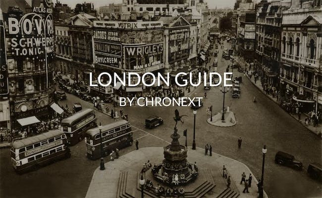 The CHRONEXT London November Guide