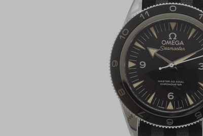 The timepieces of James Bond crew to be auctioned off