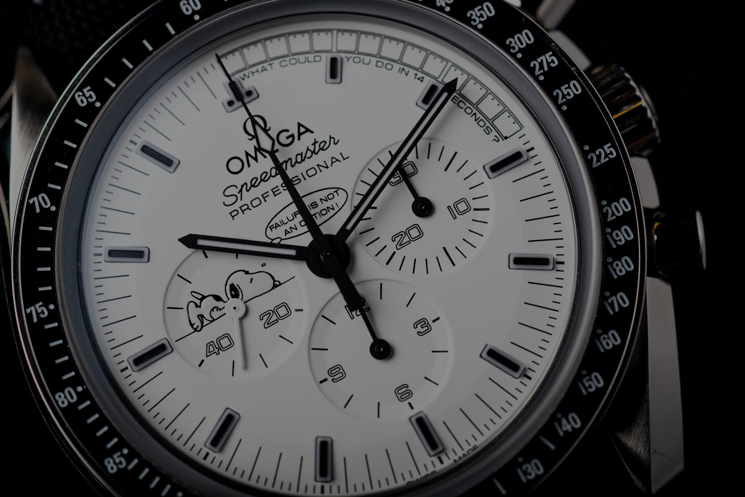 Sourced: Die Speedmaster Apollo 13 Silver Snoopy Award