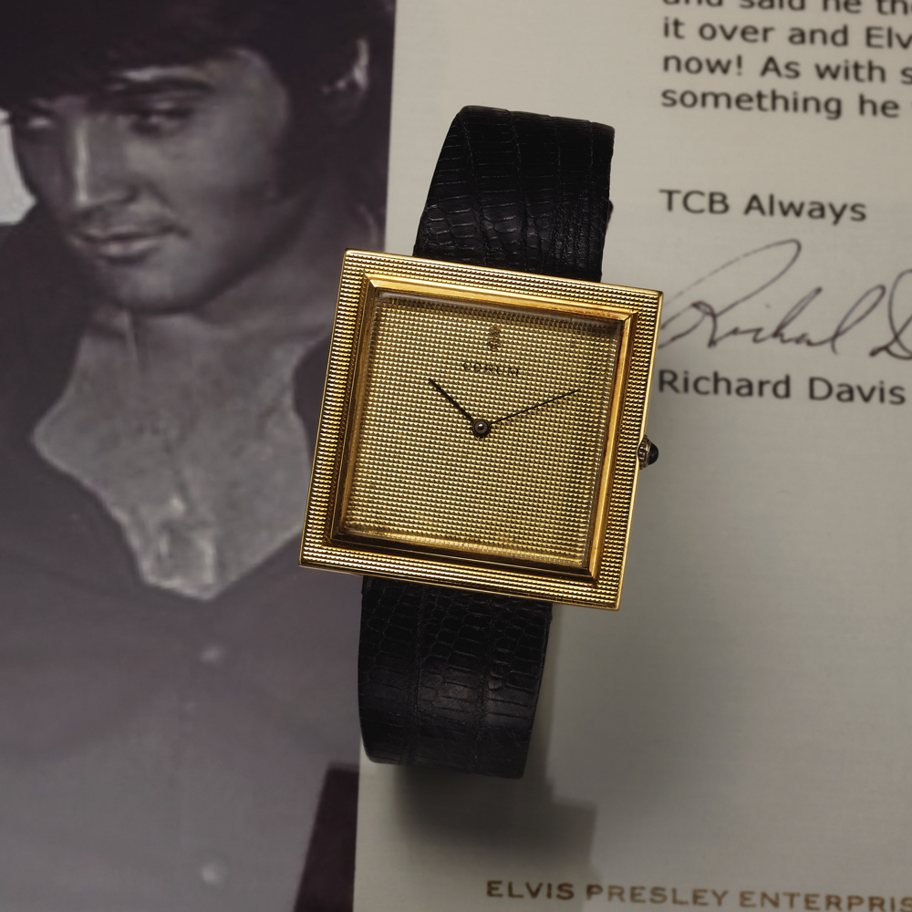 Elvis Presley's Corum Buckingham is on the block!
