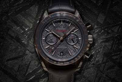 "Why the new Omega Speedmaster Grey Side of the Moon ""Meteorite"" will have you hating or loving it"