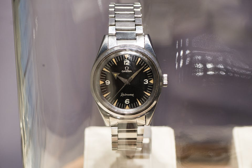 ef078fd89fd Baselworld 2017  Discover the limited edition Omega 1957 Trilogy ...