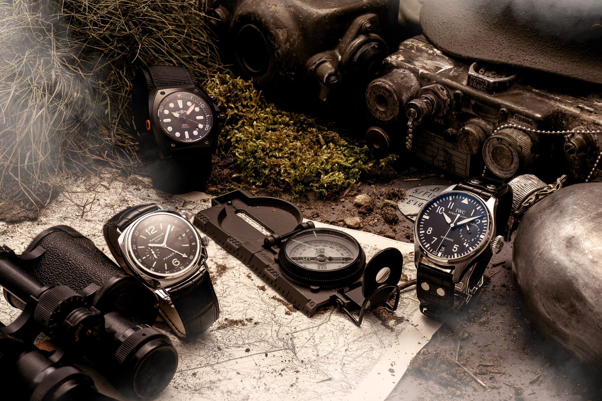 What are the top 5 military watches for the modern gentleman?