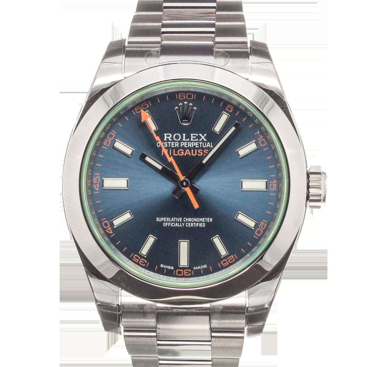 Rolex milgauss infos price history chronext for Rolex milgauss