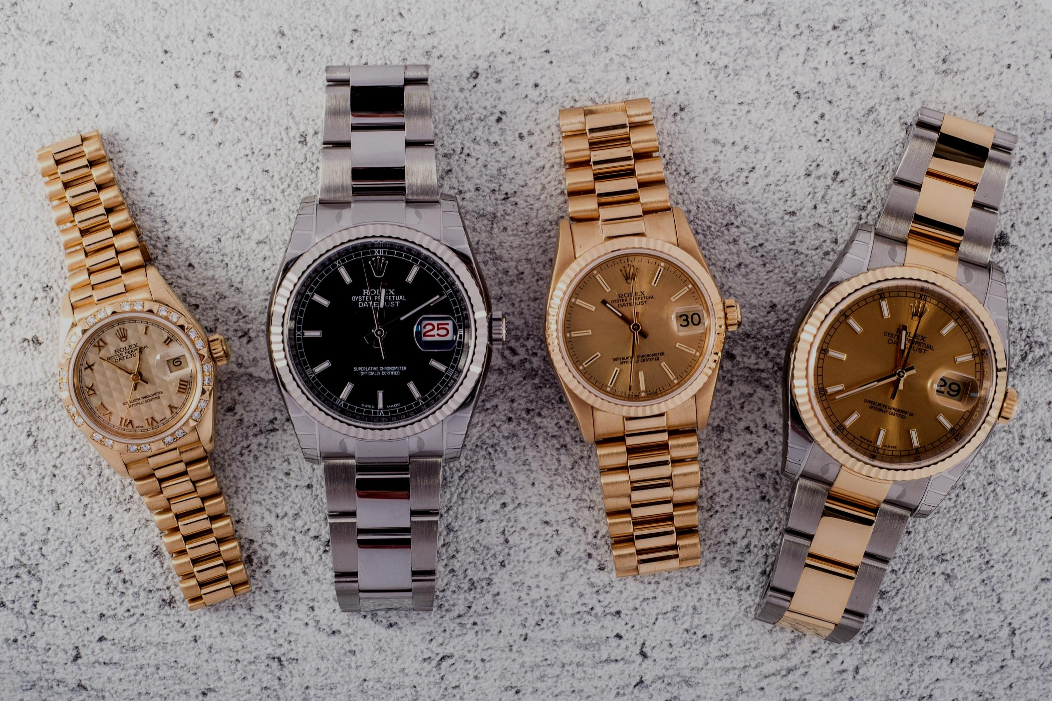 Unsere Rolex Datejust Favoriten