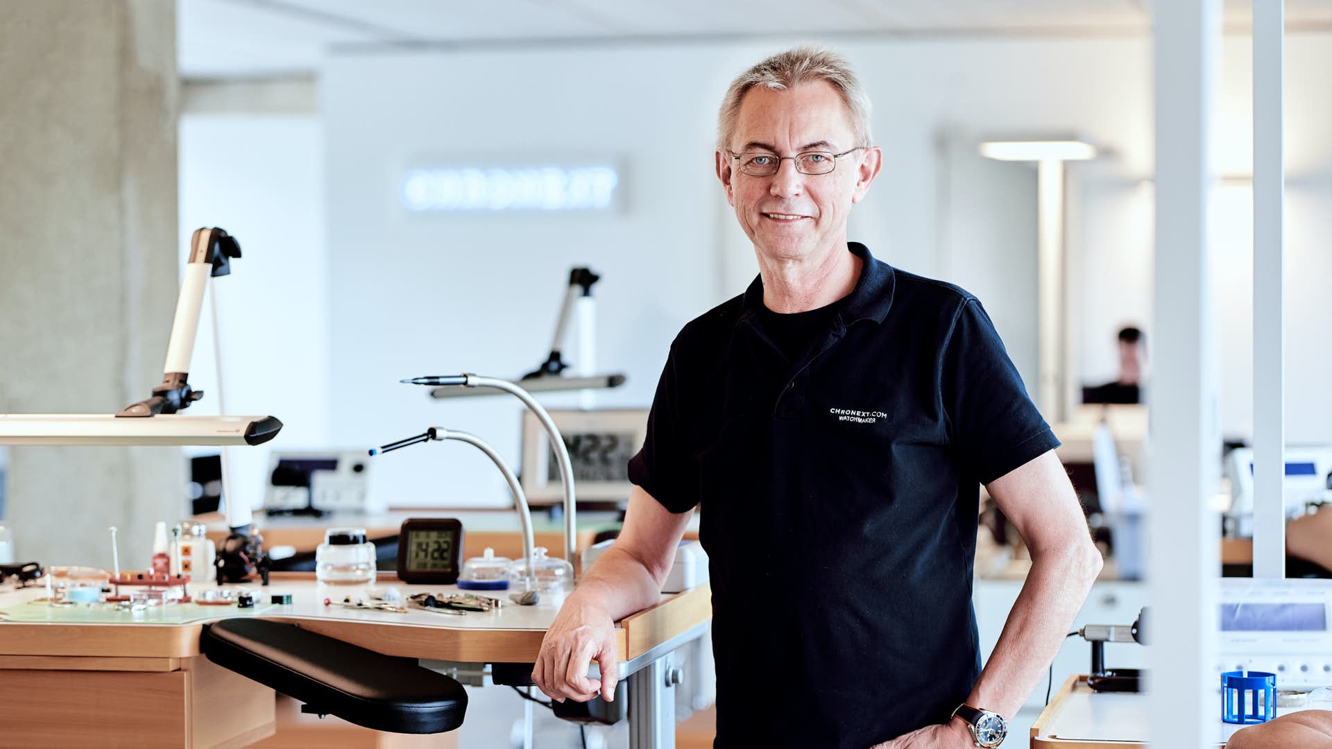 Master Watchmaker Karl-Heinz H. - The Teamleader